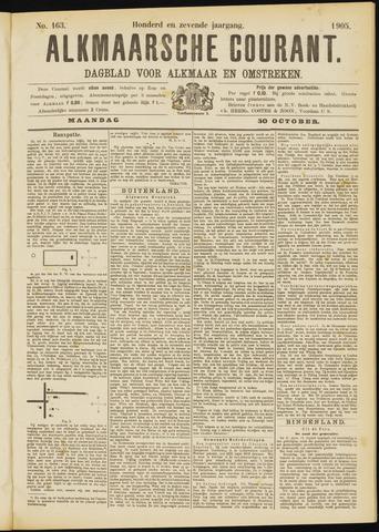 Alkmaarsche Courant 1905-10-30