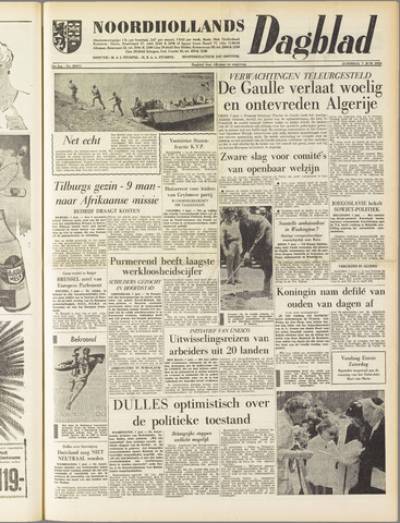 Noordhollands Dagblad : dagblad voor Alkmaar en omgeving 1958-06-07