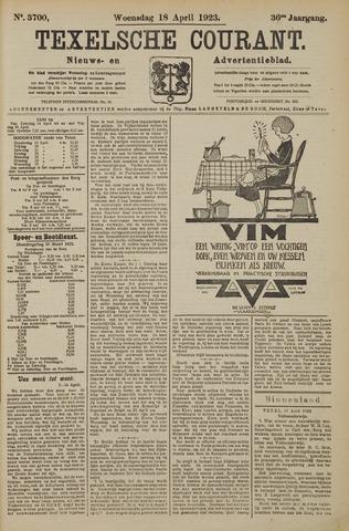 Texelsche Courant 1923-04-18