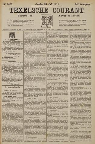 Texelsche Courant 1911-07-23