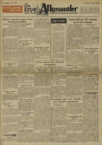 De Vrije Alkmaarder 1948-03-09