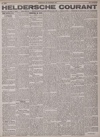 Heldersche Courant 1917-11-22