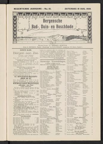 Bergensche bad-, duin- en boschbode 1928-08-18