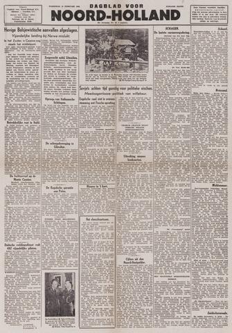 Dagblad Noord-Holland, Schager editie 1944-02-16
