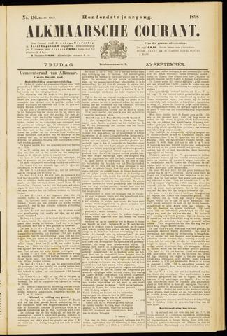 Alkmaarsche Courant 1898-09-30