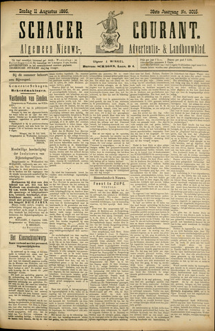Schager Courant 1895-08-11