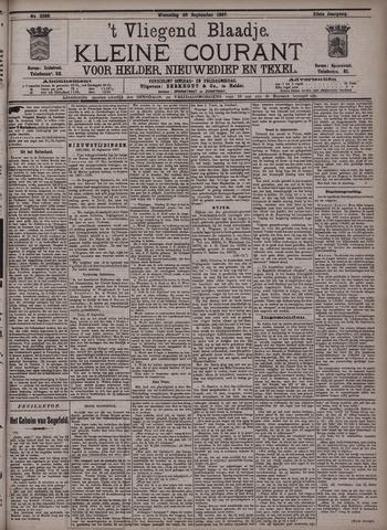 Vliegend blaadje : nieuws- en advertentiebode voor Den Helder 1897-09-29