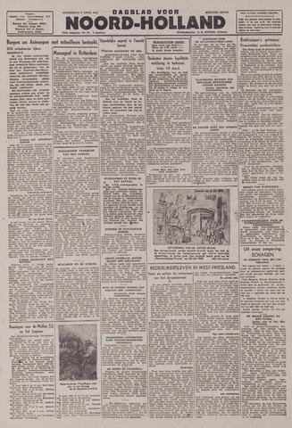 Dagblad Noord-Holland, Schager editie 1943-04-08