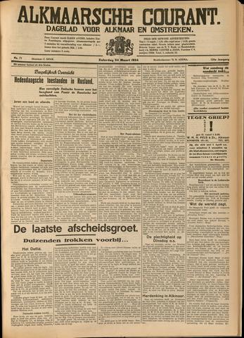 Alkmaarsche Courant 1934-03-24