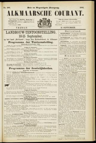 Alkmaarsche Courant 1891-09-11