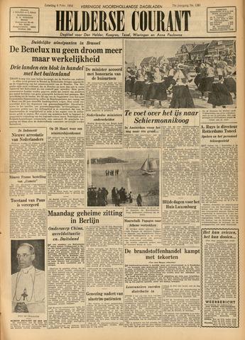Heldersche Courant 1954-02-06
