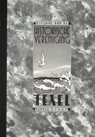 Uitgave Historische Vereniging Texel 1987-10-01