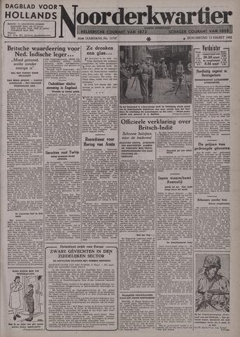 Dagblad voor Hollands Noorderkwartier 1942-03-12