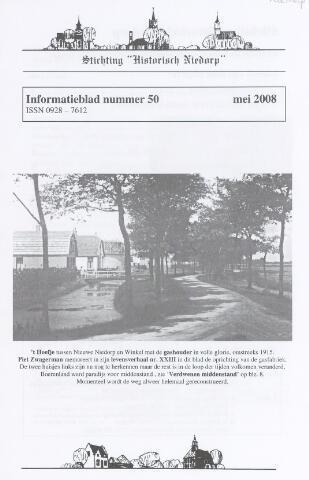 Informatieblad stichting Historisch Niedorp 2008