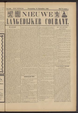 Nieuwe Langedijker Courant 1923-12-13