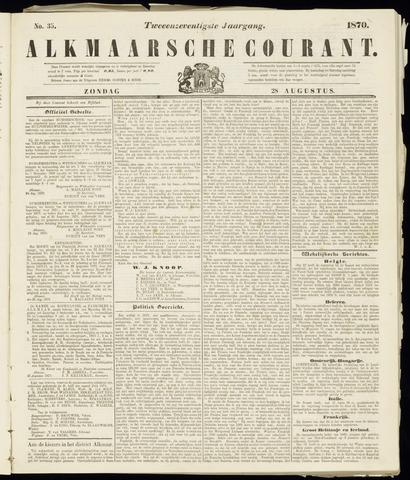 Alkmaarsche Courant 1870-08-28