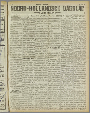 Ons Blad : katholiek nieuwsblad voor N-H 1921-11-16