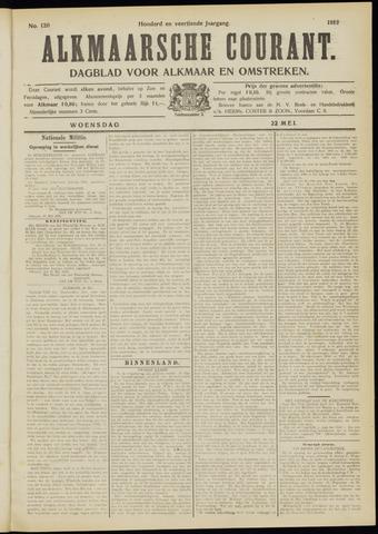 Alkmaarsche Courant 1912-05-22