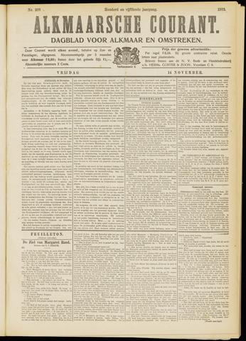 Alkmaarsche Courant 1913-11-14