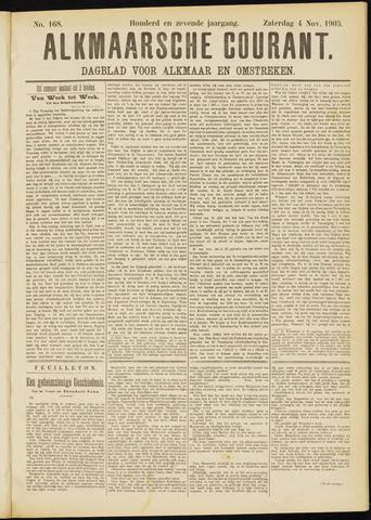 Alkmaarsche Courant 1905-11-04