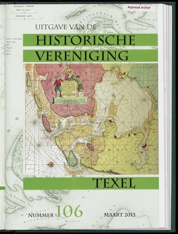 Uitgave Historische Vereniging Texel 2013-03-01