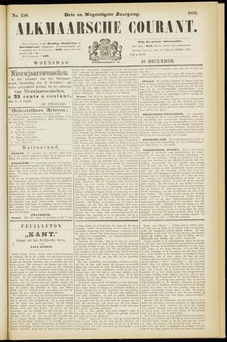 Alkmaarsche Courant 1891-12-16