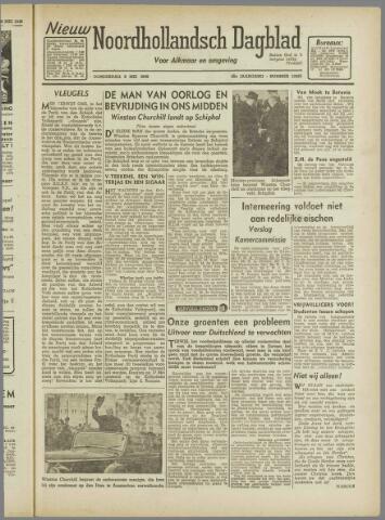 Nieuw Noordhollandsch Dagblad : voor Alkmaar en omgeving 1946-05-09