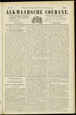Alkmaarsche Courant 1889-08-04