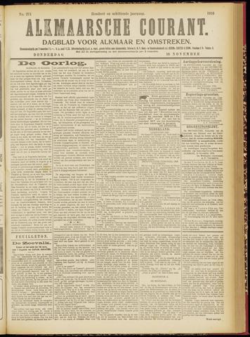 Alkmaarsche Courant 1916-11-16