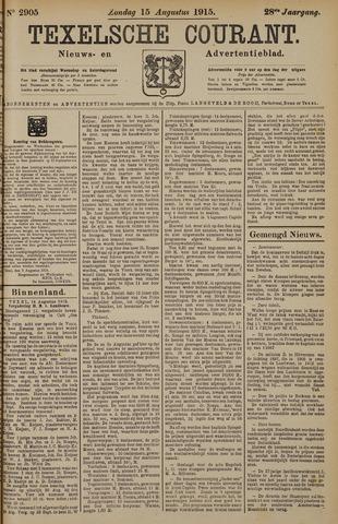 Texelsche Courant 1915-08-15