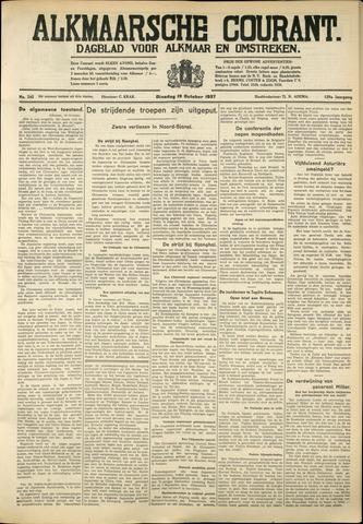 Alkmaarsche Courant 1937-10-19