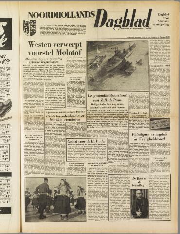 Noordhollands Dagblad : dagblad voor Alkmaar en omgeving 1954-02-06