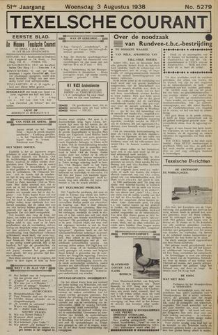Texelsche Courant 1938-08-03