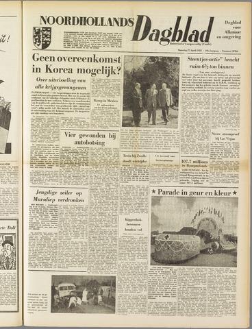 Noordhollands Dagblad : dagblad voor Alkmaar en omgeving 1953-04-27