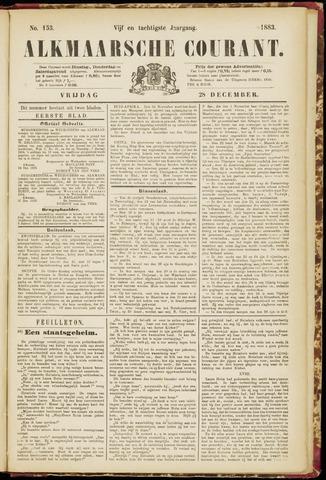 Alkmaarsche Courant 1883-12-28