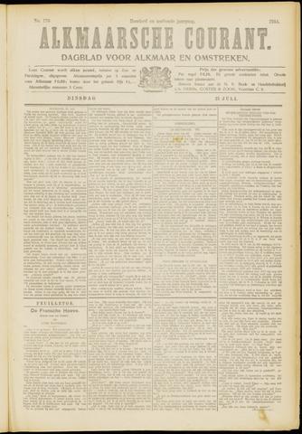 Alkmaarsche Courant 1914-07-21