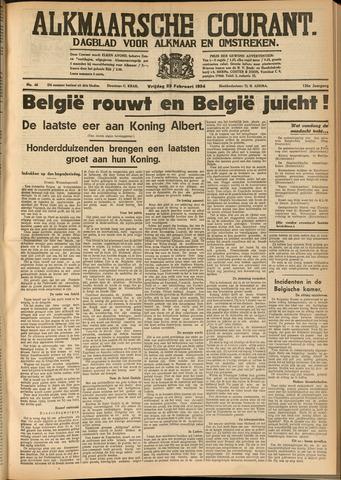 Alkmaarsche Courant 1934-02-23
