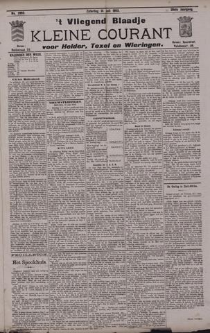 Vliegend blaadje : nieuws- en advertentiebode voor Den Helder 1900-07-14