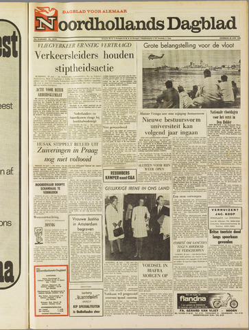 Noordhollands Dagblad : dagblad voor Alkmaar en omgeving 1969-06-28