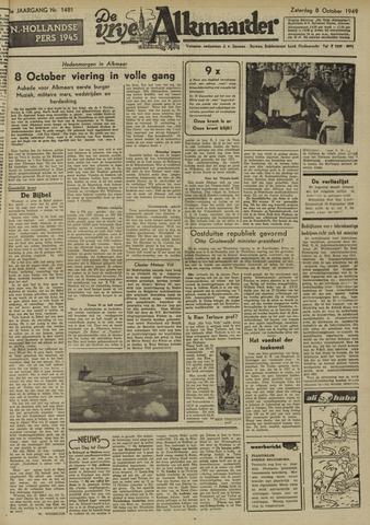 De Vrije Alkmaarder 1949-10-08