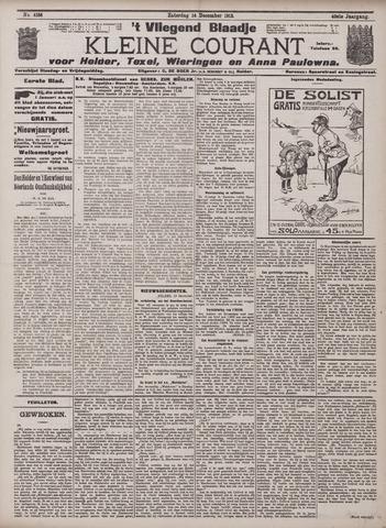 Vliegend blaadje : nieuws- en advertentiebode voor Den Helder 1912-12-14