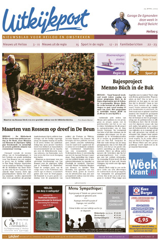 Uitkijkpost : nieuwsblad voor Heiloo e.o. 2012-04-25
