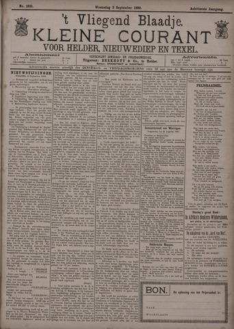 Vliegend blaadje : nieuws- en advertentiebode voor Den Helder 1890-09-03