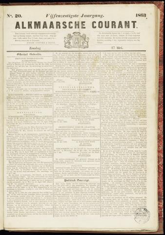 Alkmaarsche Courant 1863-05-17
