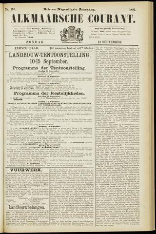 Alkmaarsche Courant 1891-09-13