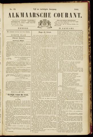 Alkmaarsche Courant 1883-01-28