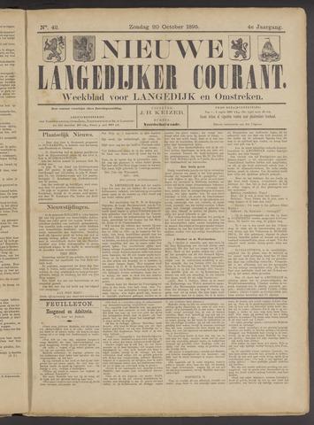 Nieuwe Langedijker Courant 1895-10-20