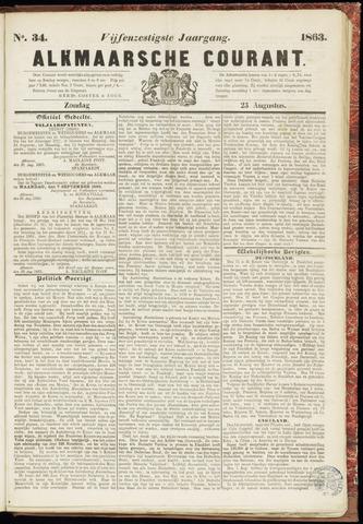 Alkmaarsche Courant 1863-08-23