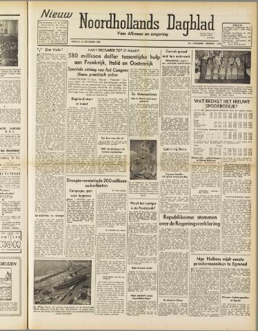 Nieuw Noordhollandsch Dagblad : voor Alkmaar en omgeving 1947-09-30