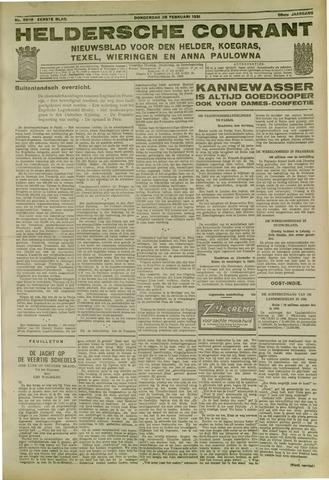 Heldersche Courant 1931-02-26